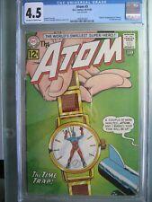 Atom #3 CGC 4.5 DC Comics 1962 Origin & 1st app Chronos & 1st Time Pool story