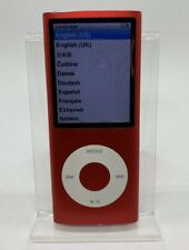 Apple Ipod Nano 4. Generation Red Product Red 8GB 4G 4th Used #89 RAR