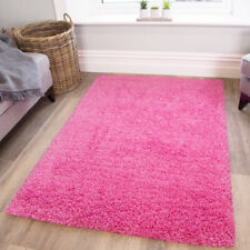 Barbie Pink Girls Bedroom Shaggy Rugs Super Soft Touch Anti Shed Cosy Cheap Rug