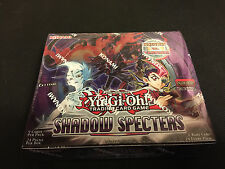 YU GI OH! SHADOW SPECTERS FIRST EDITION BOOSTER BOX 24 PACKS FACTORY SEALED
