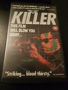 THE KILLER - JOHN WOO - PALACE PREMIERE - EX RENTAL BIG BOX VHS