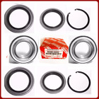2 Front Wheel Bearing Seal Wsnap For Toyota Tundra 2000-2006 9036954002 New