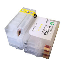 For HP 932 933 Officejet 6100 6600 6700 7612 7610 refillable ink cartridge empty