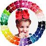 30pcs 6in Grosgrain Ribbon Big Hair Bows Alligator Clips for Girls Teens Toddler