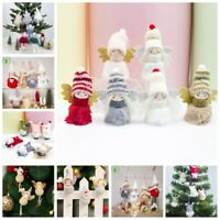 Angel Faceless Toy Doll Christmas Xmas Tree Hanging Home Party Ornament Decor