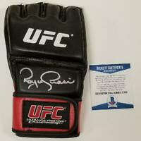 Royce Gracie signed Official UFC Glove Autograph ~ Beckett BAS COA