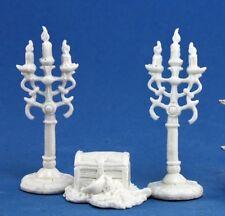 Treasure pile e Candleabra (3) - Reaper Miniatures Dark Heaven Ossa - 77138