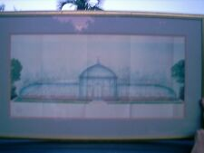 """Milton A Bleier GREENHOUSE IN THE GARDEN  #32088 40"""" BY 23.5"""" WITH FRAME"""