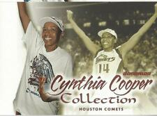 2000 WNBA FLEER DOMINION * CYNTHIA COOPER COLLECTION * CARD #5  FIRST CHAMPIONS