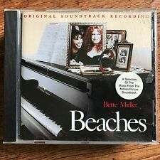 Bette Midler BEACHES ~ 1989 Motion Picture Soundtrack CD OST