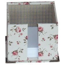 Papierzettel Box Bausatz Kartonage Rinske Stevens Bastelpackung Deko 11x11x9,5cm