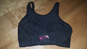 Womens Activewear Sports Top Black 30E 6 Cropped  <MJ2224z