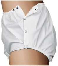Essential Medical Supply Quick Sorb Incontinent Snap Closure Pants XL Unlined
