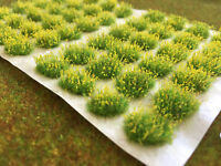 Small Yellow 'Flower Patches' -Miniature Scenery Grass Tufts Railway Dolls House