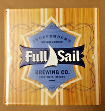 Full Sail Brewing Co. Session Lager Metal Beer Tin Sign Advertising - NEW -