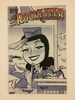 Rocketeer Adventures 2 #4 Darwyn Cooke Sketch Variant IDW Publishing 2012 VF/NM