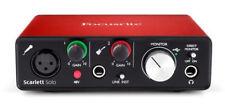 Focusrite Scarlett Solo 2nd Gen USB Audio Interface