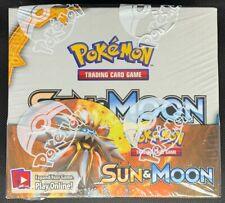 *SALE!* POKEMON SEALED SUN & MOON SM BASE SET BOOSTER BOX (3)