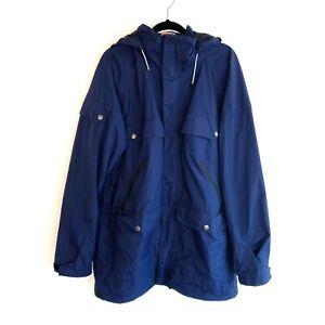 Burton Analog Anthem Snowboard Jacket Size Large Blue