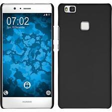 Custodia Rigida Huawei P9 Lite - gommata nero + pellicola protettiva