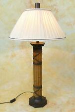 Tischlampe Lampe Stehleuchte Asiatika Bambus Optik Meditation Asien PQ018-b