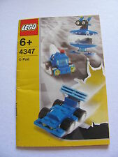 LEGO 4347 @@ NOTICE / INSTRUCTIONS BOOKLET / BAUANLEITUNG