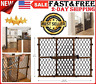 Pet Dog Gate Child Baby Safety Puppy Cat Door Expandable Barrier Plastic Fence