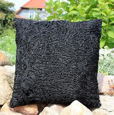 Pelz persianerkissen 40x40 noir sentir-bon OREILLER COUSSIN EN FOURRURE moelleux