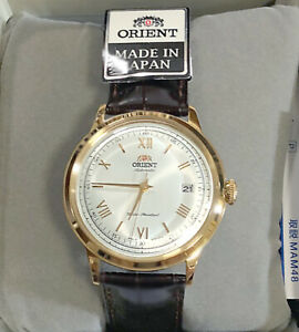 ORIENT Bambino SAC00007W0 Automatic Watch Made in JAPAN EMS Free Shipping NEW