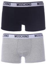 Moschino Underwear 2 Pack Boxer Black Grey Branded XL