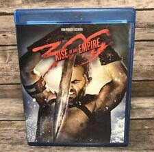 300: Rise of an Empire (Blu-ray/DVD, 2014, 2-Disc Set) Mint Discs