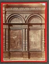 169-ALBUMINA <ITALIA_VERONA> Capilla Pellegrini en S. Ber S.M. Organo (19x25cm)