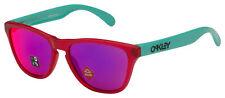 Oakley Frogskins XS Sunglasses OJ9006-0953 Matte Translucent Pink | Prizm Road