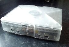 Original Xbox CRYSTAL 500GB hdd retro gaming REPLACEMENT console only