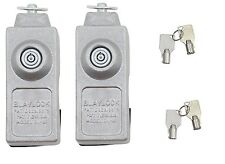 TWO Cargo Trailer Door Locks Cam Bar DL80 Blaylock KEYED ALIKE