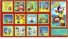Quilting Treasures ~ VEGGIE TALES Helping Hands ~ 100% Cotton Fabric Book Panel