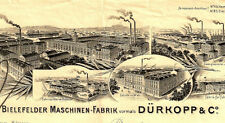 Dürkopp Werke AG Bielefeld 1955 histor. DM Aktie Nähmaschine Fahrrad Motorrad