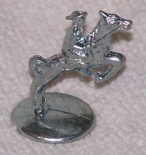 Cowboy on Horseback Standard Edition Monopoly Silvery Pewter Game Token