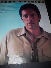 John O'Banion Spectacular Success 1981 Promo Poster Ad