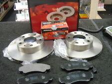FIAT DUCATO 2.3JTD SWB FRONT BRAKE DISCS MINTEX BRAKE PADS 280MM
