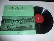 Handel-la música de agua-Reino Unido Fidelidad Vinilo Lp