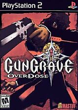 Gungrave: Overdose (Sony PlayStation 2, 2004)DISC ONLY