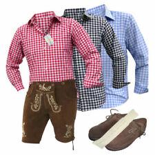 Kurze Herren-Trachten Lederhose aus Glattleder