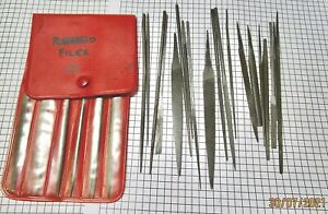 Collection of vintage watchmakers files, no reserve