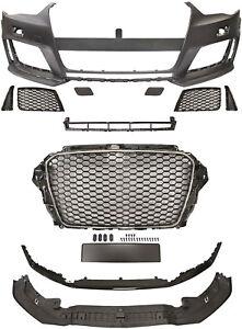 Stoßstange vorne für Audi A3 8V S3 RS3 ABS Gitter Front Schürze Kühlergrill Neu