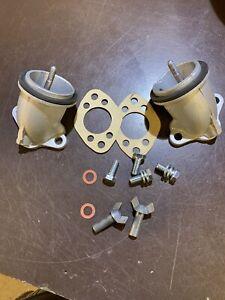 Classic Mini Cooper S Twin SU Carb Metal Airbox Air Box Fitting Kit Elbows Etc