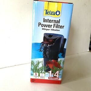 Tetra Whisper INTERNAL POWER FILTER 1-4 Gallons 27-GPH PUMP Aquarium Fish Tank S