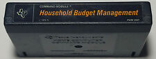 TI 99/4A Command Module: Household Budget Management - Cart Only