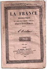 Pièce de théâtre. L'Eclair. Planard, Saint-George et Halévy. 1846. Opéra-Comique