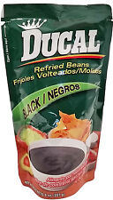 Ducal Refried Black Beans 8 oz - Frijoles Negros Refritos (Pack of 12)